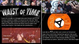 Bandleden na 43 jaar weer samen op podium tijdens Lentefeesten Beuningen